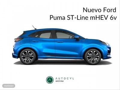 usado Ford Puma 1.0 EcoBoost 92kW 125cv Titanium MHEV