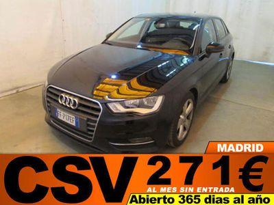 usado Audi A3 2.0TDI 184CV **GPS, 271€/MES**