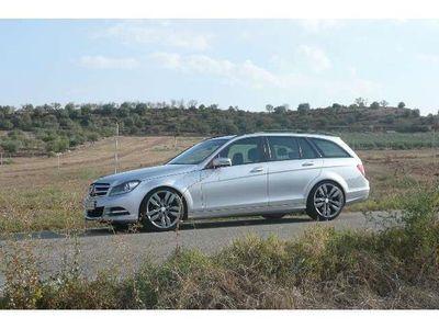 usado Mercedes C200 Estate CDI BE Executive 7G Plus