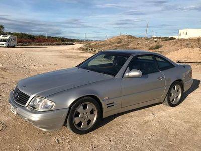 usado Mercedes SL320 320 v6, techo panoramico