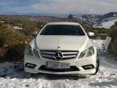 usado Mercedes E350 Clase E CoupeCDI Blue Efficiency Avantg. -13