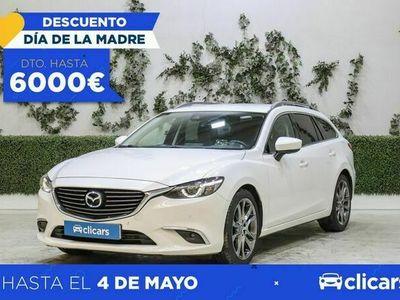 usado Mazda 6 2.2 DE 110kW (150CV) Luxury WGN