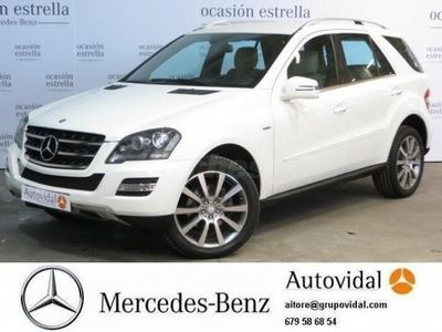 usado Mercedes ML300 Clase MCdi 4m Blue Efficiency 5p. -11
