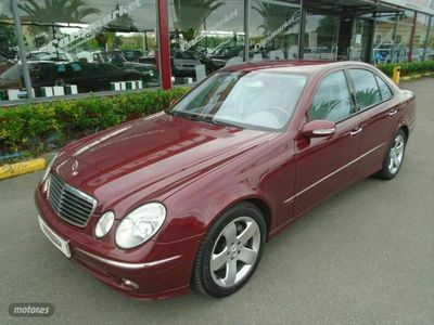 usado Mercedes E500 ClaseAut.