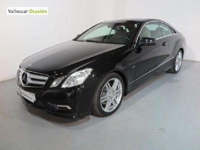 usado Mercedes 170 CLASE E COUPE AVANTGARDE 2.2 CDI BLUE EFFIC. CV 2P