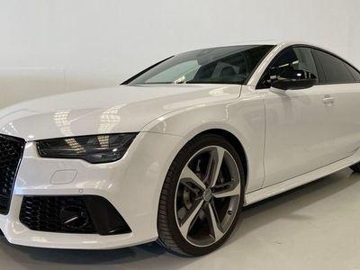 usado Audi RS7 Sportback 4.0 TFSI quattro 412 kW (560 CV) tiptronic Gasolina Blanco matriculado el 07/2016