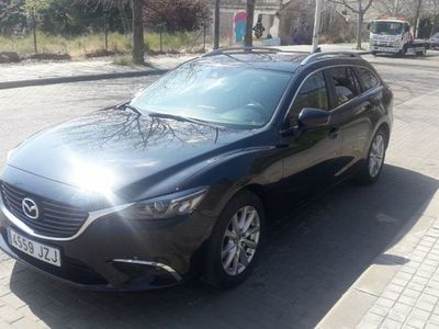 usado Mazda 6 2.2DE Lux.+Prem.B.(Navi) Aut. 110kW