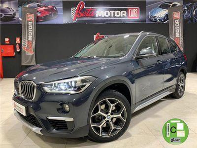 usado BMW X1 sDrive 18dA-NACIONAL UNICO DUEÑO-LIBRO EN