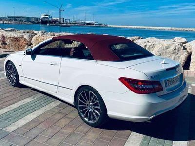 usado Mercedes E350 Cabrio CDI BE 7G Plus AMG FULL EQUIPE