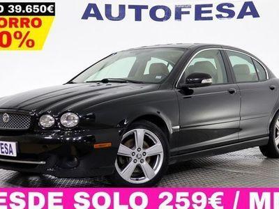 usado Jaguar X-type 2.2D 155cv Executive Auto 4p # CUERO,XENON,LIBRO REVISION