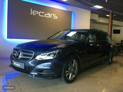 usado Mercedes E200 Clase EBlueTEC Avantgarde Estate