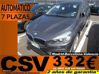 brugt BMW 218 Serie 2 Gran Tourer d
