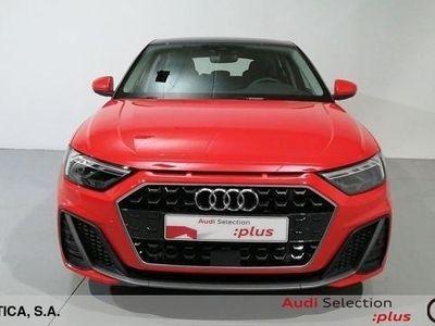 usado Audi A1 Sportback S line 35 TFSI 110 kW (150 CV) S tronic Gasolina Rojo matriculado el 08/2019