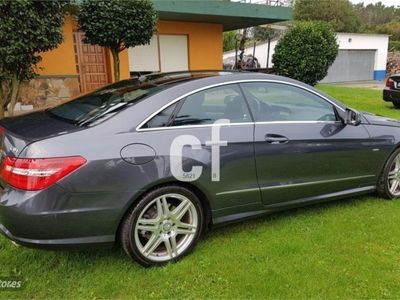 usado Mercedes E350 Clase E CoupeCDI Blue Efficiency Elegance