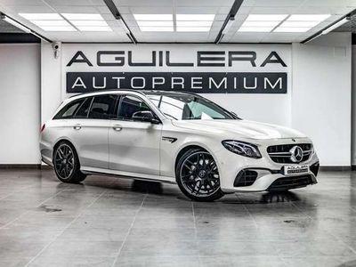 usado Mercedes S63 AMG Clase E Estate AMG4Matic+ 9G-Tronic