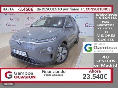 usado Hyundai Kona EV 100kW 136CV Tecno