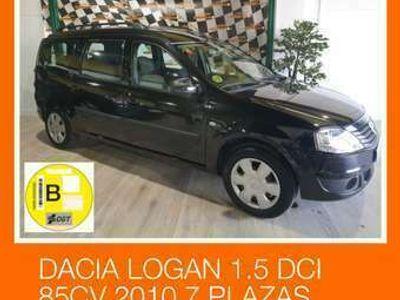 usado Dacia Logan Break 1.5dCi Laureate 7pl. 85