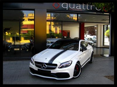 usado Mercedes C63 AMG AMG S COUPE EDITION 1 LIBRO MERCEDES IVA DEDUCIBLE