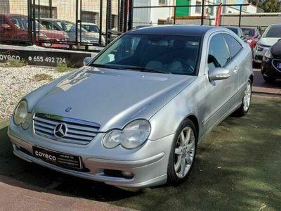 usado Mercedes 200 Clase C SportcoupéK