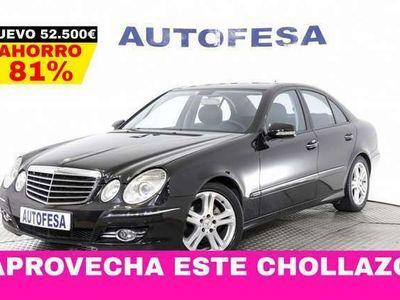 usado Mercedes E290 2.9 CDI 224cv Avantgarde 4MATIC 4p Auto #LIBRO, CU