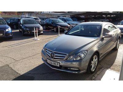 usado Mercedes E350 CDI Coupe Blue Efficienc