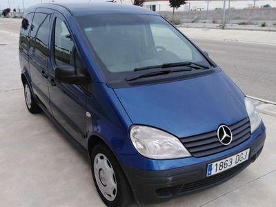 gebraucht Mercedes Vaneo 1.7 CDI City Trend