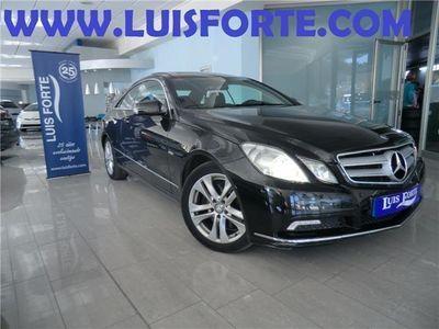 usado Mercedes E350 Coupé CDI BE **TECHO SOLAR, CLIMA BI. CONTR. VEL**