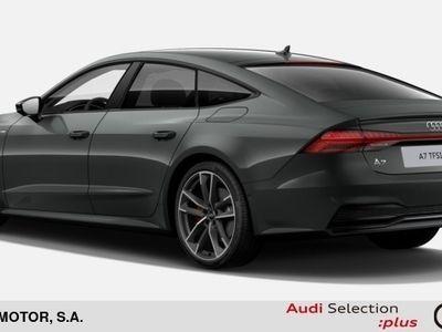 usado Audi A7 Sportback 55 TFSIe quattro-ultra S tronic 270 kW (367 CV) Híbrido Electro/Gasolina Gris matriculado el 01/2020