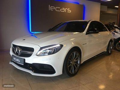 usado Mercedes C63 AMG Clase C AMG
