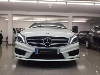usado Mercedes A220 Clase ACdi 4matic Aut. Amg Line 5p. -14