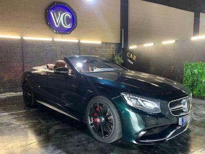 usado Mercedes S63 AMG Cabrio AMG 4Matic Aut.