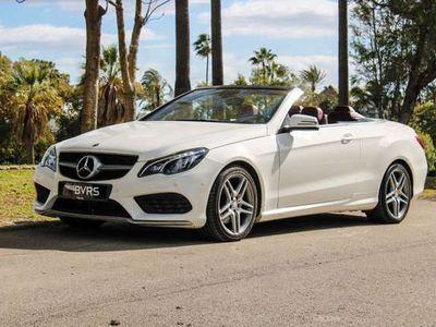 usado Mercedes E200 Cabrio CGI BE 7G Plus (9.75)