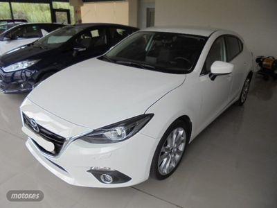 brugt Mazda 3 32.2 Luxury Navegador