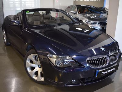 usado BMW 650 Cabriolet i Aut. - HEAD-UP - AS. MEMORIAS - AS. CALEF