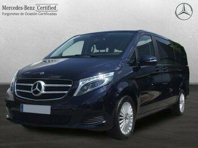 usado Mercedes V220 Clase VLargo 163 cv en Madrid