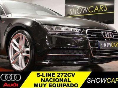 usado Audi A7 Sportback 3.0TDI S line quattro ed. S-T