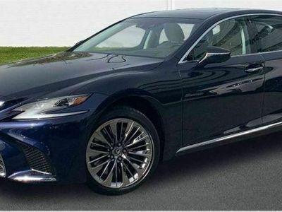 usado Lexus LS500h Luxury Art Wood LWhite AWD