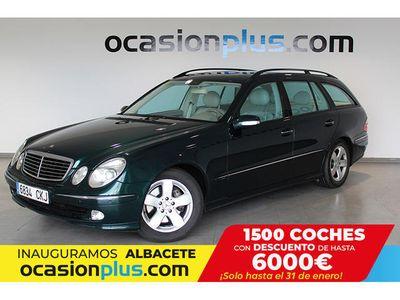 usado Mercedes E320 CDI AVANTGARDE AUTO (204CV)