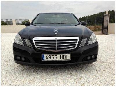 usado Mercedes E220 CDI BE Aut.
