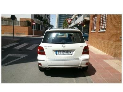 usado Mercedes GLK220 CDI BE
