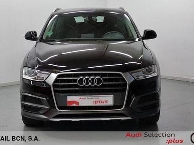 usado Audi Q3 design edition 2.0 TDI 110 kW (150 CV) Diésel Negro matriculado el 01/2018