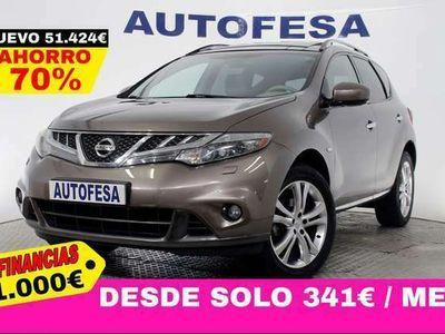 usado Nissan Murano 3.5 V6 256cv Premium 4x4 5p Auto # NAVY, TECHO, CUERO, BARRAS, CAMARA