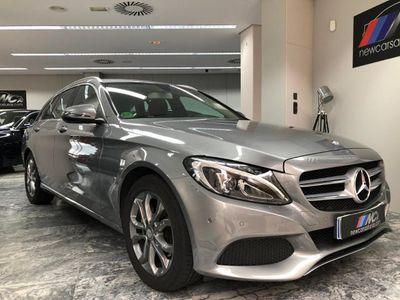 usado Mercedes C220 Estate d 9G-Tronic