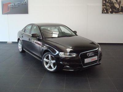usado Audi A4 A4Sline multitronic negro mit