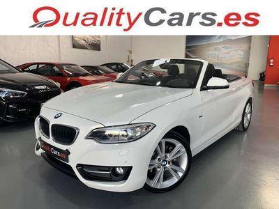 usado BMW 220 Serie 2 dA Cabrio