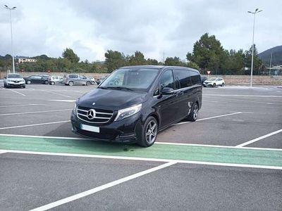 usado Mercedes V220 d Largo Avantgarde 7G Tronic