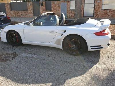 usado Porsche 911 Turbo Cabriolet 997 Allrad Tiptronic