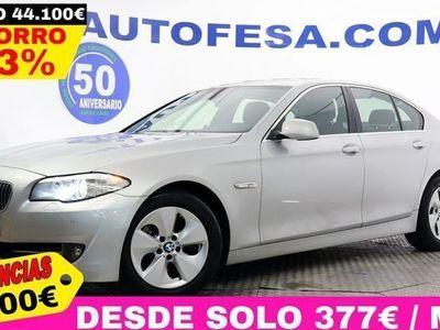 usado BMW 520 F10 d 184cv 4p S/S # GPS, CUERO, BIXENON, PARKTRONIC