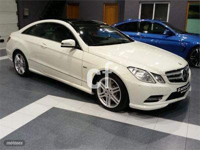 usado Mercedes E350 Clase E CoupeCdi Blue Efficiency Avantg. 2p. -12