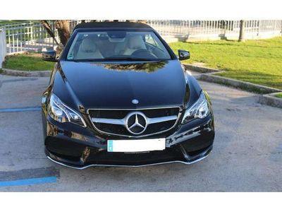 usado Mercedes E250 Cabrio CDI 7G Plus